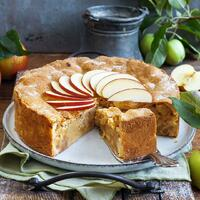 """Es ist Kuchen-Zeit. 🤤🍰 Und es ist Apfel-Zeit. 🤩 Deshalb genießen wir einen gedeckten Apfelkuchen, am besten gleich frisch aus dem Ofen. Hmmmm, es schmeckt so gut, wie es duftet. 😍   Ihr braucht:  🍏 Weizenmehl Type 405 🍏 Butter + Zucker 🍏 Ei + Eigelb 🍏 Vanillezucker 🍏 Äpfel + Zitrone 🍏 Zimtpulver 🍏 Honig + Mandeln 🍏 Springform (Ø 26 cm)  Dazu eine Kugel Vanilleeis oder frisch geschlagene Sahne, herrlich! Lasst es euch schmecken und habt ein tolles Wochenende. Das Rezept findet ihr in unserer Story und dem Highlight """"MC & ZauberTopf"""".🔝 • • • #apfelkuchen #monsieurcuisineoriginal #monsieurcuisineeditionplus #monsieurcuisineconnect #monsieurcuisine #monsieurcuisinerezept #cake #monsieurcuisinerezepte #zaubertopf #foodstagram #foodgasm #foodspiration #aepfel #rezepte #leckerschmecker #recipes #foodlover #dynamischmitmc #lecker #soulfood #neuesrezept #essenistliebe #vegetarisch #bakingtime #herbst #gedeckterapfelkuchen #backenistliebe #selfmade #madewithlove #kuchen"""